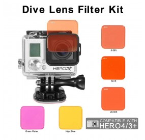 GOPRO UNDERWATER FILTER 5-PACK
