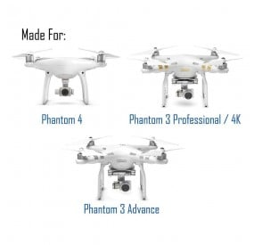 DJI PHANTOM 3 / DJI PHANTOM 4 FILTER 4-PACK