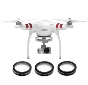 DJI PHANTOM 3 STAR FILTER 3-PACK