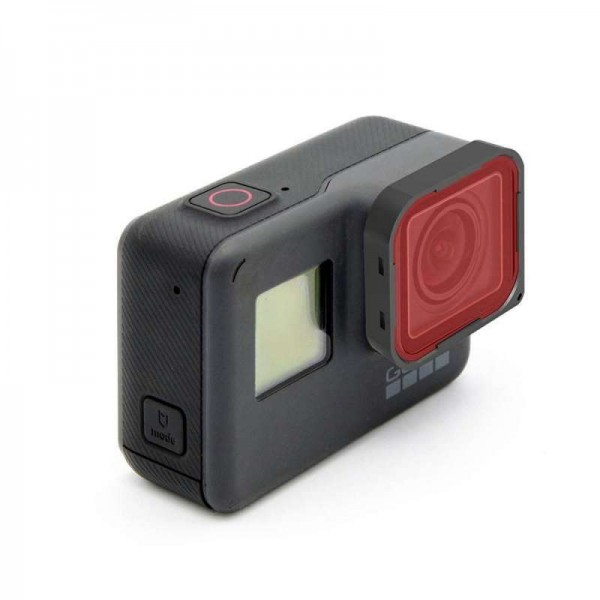 HERO6 BLACK RED FILTER