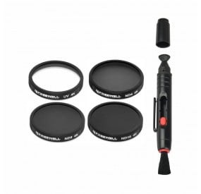 Freewell ND4/ND8/ND16/UV Camera Lens Filter Compatible With Autel Robotics X-Star Vehicle (4 Pack)