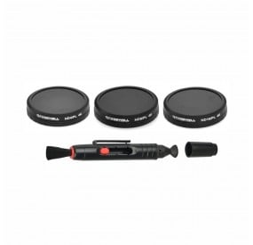 Freewell ND4/PL, ND8/PL, ND16/PL, lens Cleaner, Protective Case Filter Kit Compatible With Autel Robotics X-Star