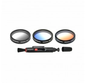 Freewell Grey , Blue , Orange Grad Filter Kit Compatible With Autel Robotics X-Star