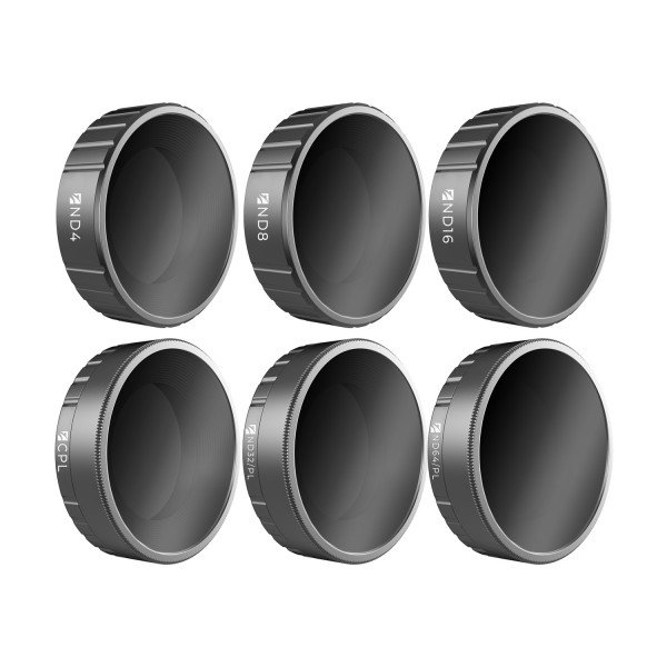 DJI OSMO ACTION CAMERA FILTERS  BUDGET KIT 6 PACK