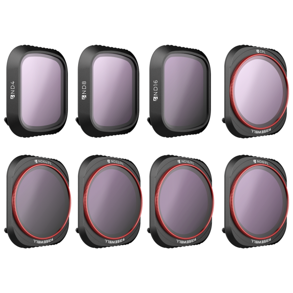 DJI MAVIC 2 PRO FILTERS - ALL DAY - 8PACK