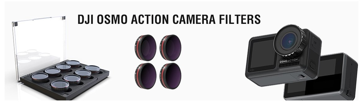 DJI Osmo Action Filters Kit By Freewellgear